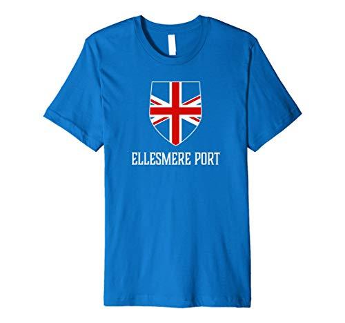 Ellesmere Port, England - British Union Jack UK T-shirt Ellesmere Port