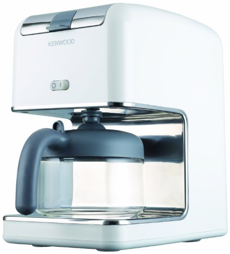 Kenwood CM300 - Cafetera de goteo (8 tazas), color blanco