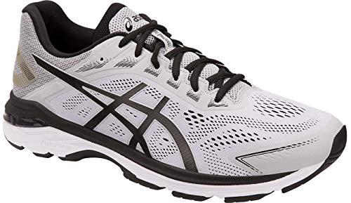 ASICS - Herren GT-2000 7 Schuhe, 44.5 EU, Mid Grey/Black