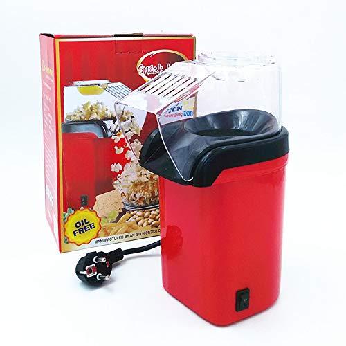 LFTS HOT AIR Popcorn Machine Popcorn Popper Measuring Cup to Measure Popcorn Kernels rot-weiß,Red