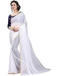 b310dd9c6 Whites Women s Sarees  Buy Whites Women s Sarees online at best ...