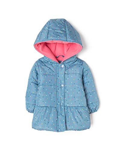 ZIPPY Chaqueta Acolchada con Capucha para bebé, Azul Blue Heaven 17/4023 3492, 86 Tamaño del Fabricante:18/24M...