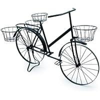 Small Foot Company Decorazione per piante «Bicicletta» Decorazione per piante «Bicicletta», Metallo, Nero