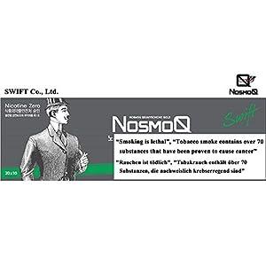 [NosmoQ] Herbal Sticks, 1 Karton (10packs-200 Sticks), Menthol-Geschmack , Non-Tabak, Kein Nikotin, Keine süchtig machenden Chemikalien für die Gesundheit, 100% Kräuter aus der orientalischen Medizin verwendet.