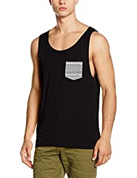 Urban Classics Herren Top Contrast Pocket Jersey Big Tank