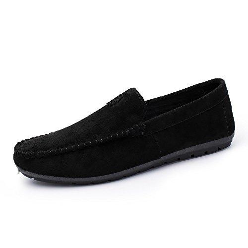 Celucke Driver Mokassins Herren, Klassische Driving Schuhe Flache Fahren Halbschuhe Slippers Weichs Comfort Loafers