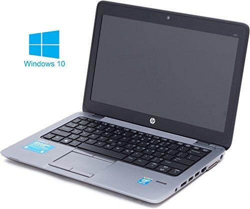 HP Elitebook 820 G1 Notebook / Laptop | 12.5 Zoll Display | Intel Core i5-4300U @ 1,9 GHz | 8GB DDR3 RAM | 256GB SSD | Windows 10 Pro vorinstalliert (Zertifiziert und Generalüberholt)