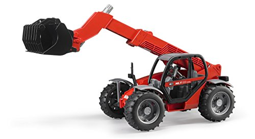 Image of Bruder 02125 Manitou Telescopic Loader MLT 633