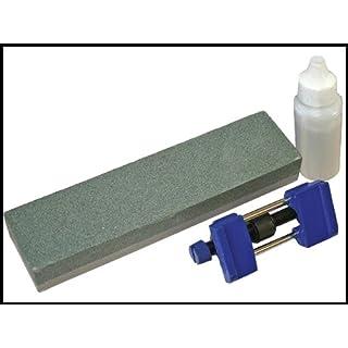 Faithfull OS8CHG Oilstone 8-inch and Honing Guide Kit