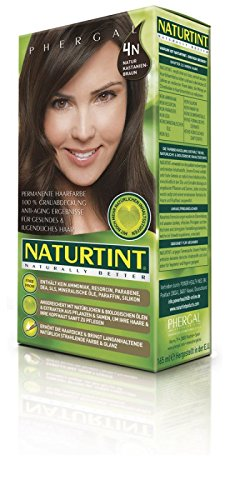 Naturtint Permanente Haarfarbe 4N Natur Kastanienbraun, 155 ml
