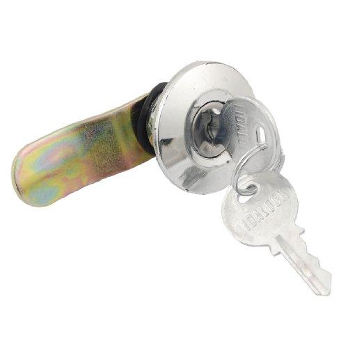 Schrank Schublade 21,5x 10mm Gewinde Tubular Cam Lock w Schlüssel