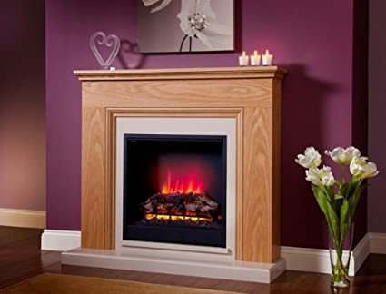 Shop Bemodern Stanton Eco Electric Fireplace Natural Oak. Free delivery on eligible orders of ?20 or more.