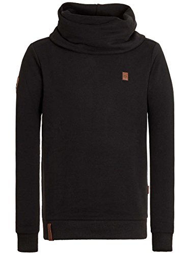 Naketano Male Sweatshirt Der Muschiflüsterer III Black