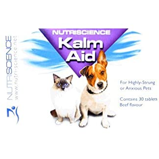 Swedencare KalmAid Anxiety & Stress Relief for Dogs & Cats - 30 Beef Flavoured Tablets Swedencare KalmAid Anxiety & Stress Relief for Dogs & Cats – 30 Beef Flavoured Tablets 41JhMvtaHuL