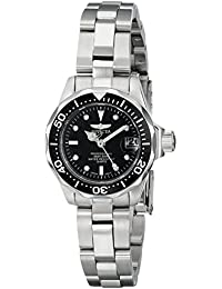 Invicta Pro Diver Women's Analogue Classic Quartz Watch with Stainless Steel Bracelet – 8939