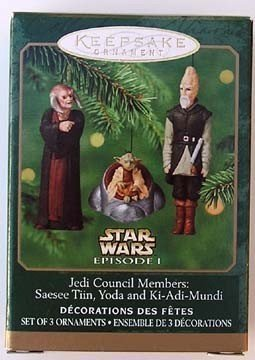hallmark-keepsake-ornaments-star-wars-episode-i-jedi-council-members-saesee-tiin-yoda-and-ki-adi-mun