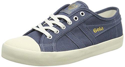 Sporco ardesia Bassi Biancheria Ew Bleu Sneakers Blu Homme Gola Coaster Bianco Blu 7qSYWHxzAc