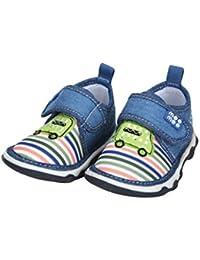Mee Mee First Walk Baby Shoes with Chu Chu Sound (21 EU, Green)