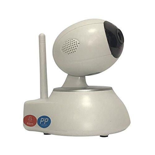 Home Surveillance Kamera Wireless IP Kamera Outdoor In Tür 720P, 3.6mm Objektiv, Intellectual Source Programm, 2 Dot Matrix Light Bullet Kameras, Dome Kameras Ausgezeichnete Zwei-Wege-Voice-Effekte, 3D Echo Noise Reduction, kommt mit PTZ, Unterstützung 64-Wege PC- Seite