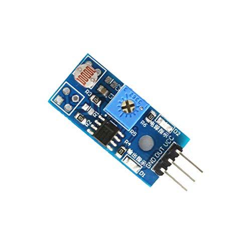 Censhaorme Lichtempfindlichkeit Modul Smart-Auto-Zubehör-Licht-Sensor Transducer Lichtempfindliche Transformator Modul LM393 30 Transducer