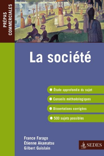 la-socit-epreuve-de-culture-gnrale-prpas-commerciales-srie-cours-french-edition
