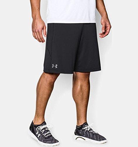 Under Armour Herren Running-Kompressionswäsche/Hose Run Compression Short Black - Black/Graphite