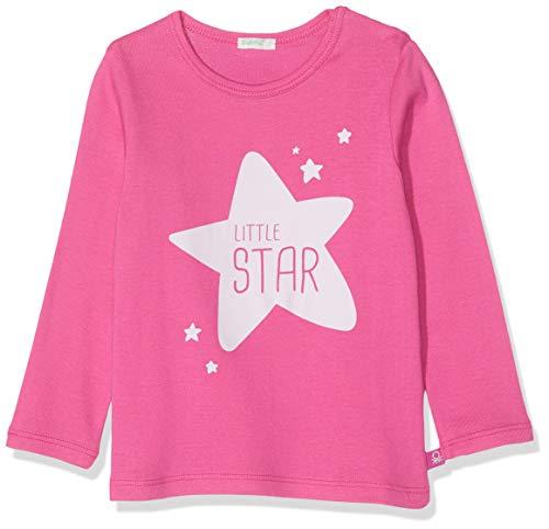 United Colors of Benetton Baby-Jungen T-s M/l Stella Pullunder, Pink (Fucsia 19t), 74/80 (Herstellergröße: 74) (T-shirts Stella Baby)