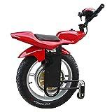 XYDDC Single-Wheeled elektrische Motorrad-Batterie-1000W 20 Zoll intelligenter Self-Balancing Elektro Einrad Scooter mit Bluetooth Audio und Stützrad mit CE-Zertifizierung