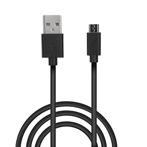 Speedlink Stream Play&Charge USB-Kabel - Kabel für PS4 Controller - USB-A zu Mikro USB - Lade- und Datenkabel - 3m Kabellänge - Schwarz