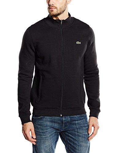 Lacoste Sport Herren Sh7616 Sweatshirt, Schwarz (Noir), X-Large (Herstellergröße: 6) (Langarm-shirt Herren Fleece)
