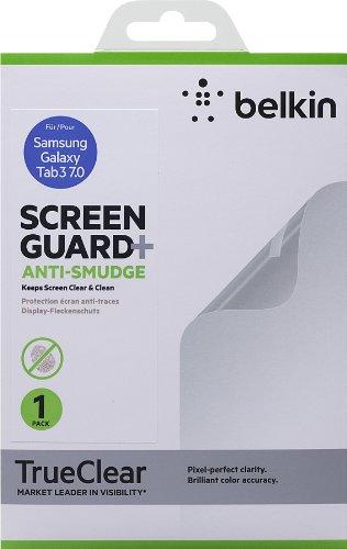 Belkin Anti Smudge Screen Overlay (geeignet für Samsung Galaxy Tab 3 17,8 cm (7 Zoll)) transparent