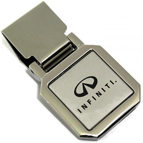 dantegts-infiniti-slim-money-clip-silvertwo-tono-spring-loaded-g37-q40-q50-q79-q60