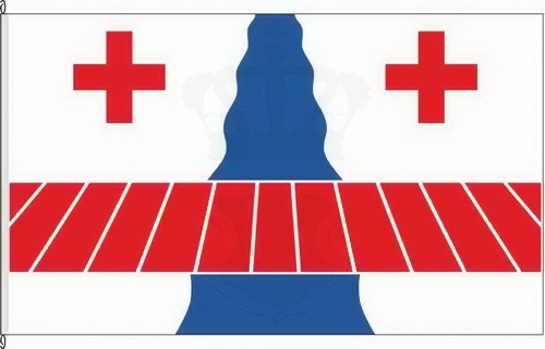 Bannerflagge Amt Viöl - 150 x 500cm - Flagge und Banner
