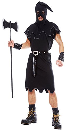 Erwachsene Für Henker Kostüm - Horror Henker Kostüm für Erwachsene