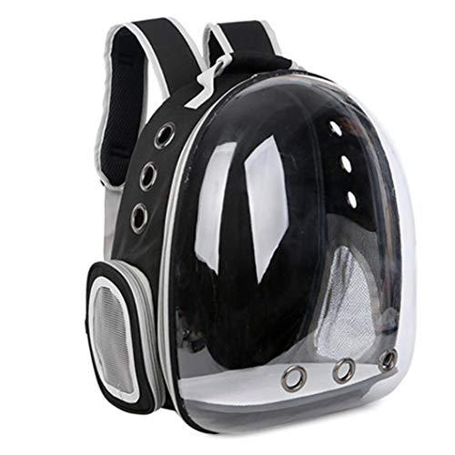 Zaino Pet Carrier Capsula Spaziale Bubble Zaino Trasparente per Gatti E Cuccioli Airline-Approvato per Viaggi, Escursioni, Passeggiate E USA Outdoor