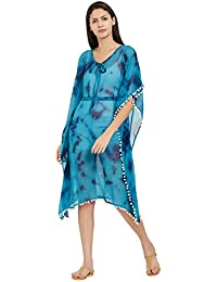 8bf48f014d7dc SOURBH Kaftan Top Beach Wear Cover ups Dresses for Women Bikini Boho Body  Swim wear Nighty