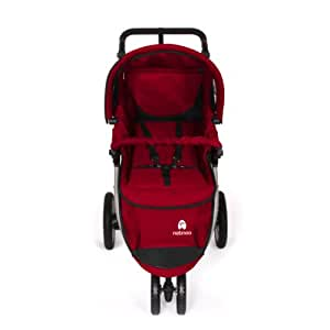 Natineo - Poussette 3 roues NIMEO-Rouge - Rouge