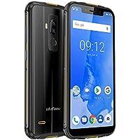 "Ulefone Armor 5 Outdoor Smartphone IP68 da 5.85"" HD+ Octa Core 4 GB RAM, 64 GB ROM, Dual SIM Dual 4G LTE, 5000mAh Qi Charge, NFC, Android 8.1 Oreo, GPS + Glonass, Type-C/Nero"