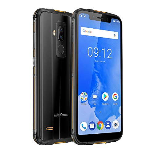 Ulefone Armor 5 4G Outdoor Smartphone IP68 Resistente Libre, OctaCore, 4GB+64GB, Android 8.1, 5000mAh, Carga...