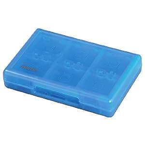 Hama Game Case für 22 Spiele und 2 Speicherkarten (für Nintendo New 3DS/XL, 3DS/ XL, 2DS, DSi/ XL und DS-Spiele) transparent