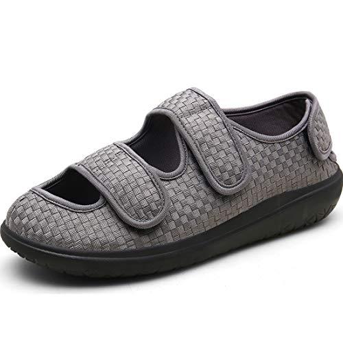 Hombre Sandalias Diabéticas Mujer Zapatos Diabeticos Antibacteriano Sanitized Ajustable Edema Zapatos...