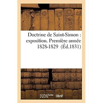 Doctrine de Saint-Simon : exposition. Première année 1828-1829 3e éd