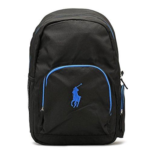 Ralph Lauren Schwarz / Royal Campus Backpack (Ralph Lauren Rucksack)