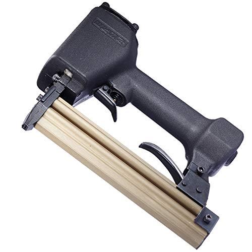 Luftnagelpistole Schnurlose Hefterpistole Quadratischer Griff Erhöhen Sie den Zylinder-Komfort-Auslöser für 100 Nägel Holzbearbeitung