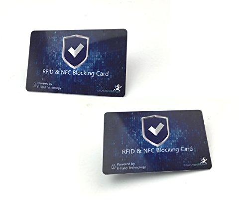 2-Stk-Patentierte-RFID-Schutz-Karten-blockieren-Auslesen-Datendiebstahl-von-Kreditkarten-Scheckkarten-Personalausweis-1-einzige-Karte-gengt-zum-Schutz-der-meisten-Portmonees-Geldbrsen