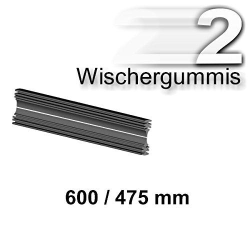 Preisvergleich Produktbild 2 x Wischergummis für BOSCH 3397118979 A979S AEROTWIN Scheibenwischer 600/475