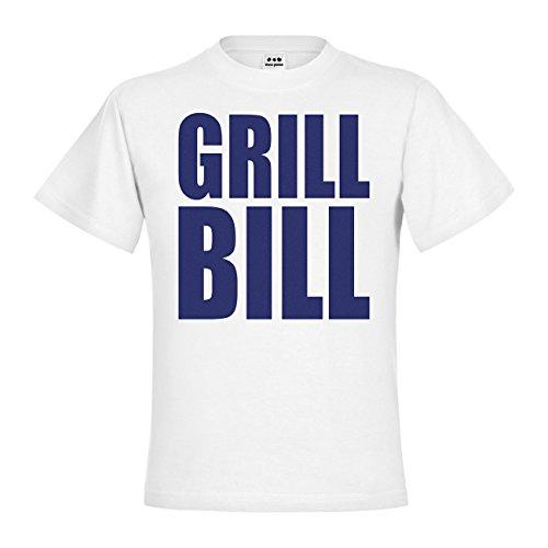 dress-puntos Kids Kinder T-Shirt Grill Bill 20drp15t-kt00229-100 Textil white / Motiv violett Gr. (Kostüme Bill Kind 100)