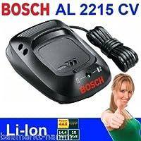 Bosch Original AL2215CV Battery Charger c/w UK 3-Pin Plug (Bosch Pt No 1600Z00002 & 2607225473) (to fit Bosch 14.4V-Li & 18V-Li Batteries used on Bosch Green Tools & Bosch Garden Tools)