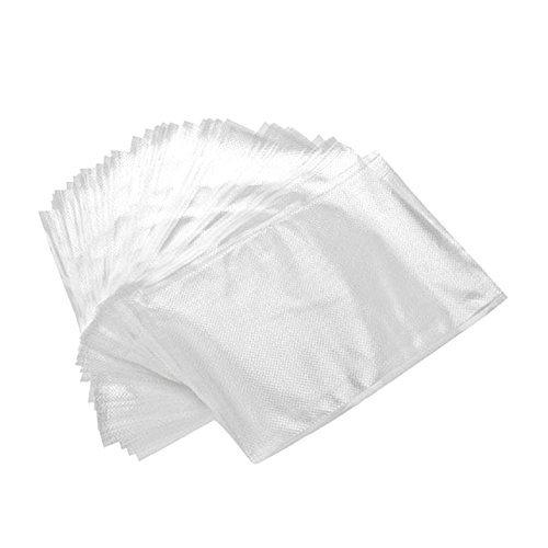 30-mikron-tasche (plastarpak-100Briefumschläge Taschen Präge-Vakuumbeutel für Lebensmittel 20x 30Zentimeter 105Mikron)