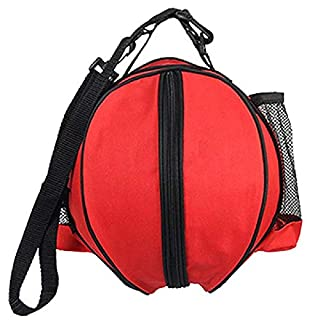 MIRACLE BLACK Portable Outdoor Sports Shoulder Soccer Ball Bags Training Equipment Accessories Kids Football Volleyball Basketball PVC Bag